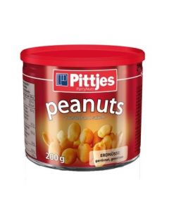 PITTJES ROASTED SALTED PEANUTS - 200GR