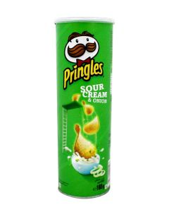 PRINGLES REGULAR SOUR CREAM ONION - 150/165GR