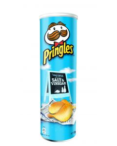 PRINGLES REGULAR SALT & VINEGAR - 150/165GR