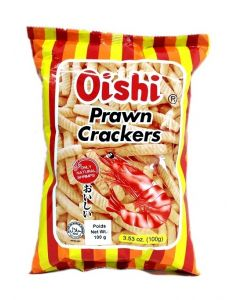 OISHI PRAWN CRACKERS - 60GR