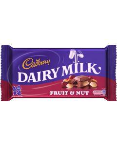 CADBURY DAIRY MILK FRUIT & NUTS CHOCOLATE - 300GR
