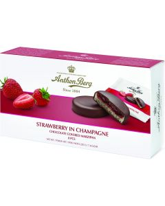 ANTHON BERG STRAWBERRY IN CHAMPAGNE 8 PCS - 220GR