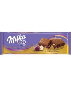 MILKA RAISINS & NUTS TABLET - 300GR