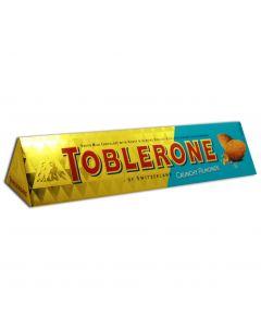 TOBLERONE CRUNCHY ALMONDS  - 6X100GR
