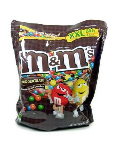 M&M MILK CHOCOLATE XL POUCH - 440GR