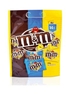 M&M MIX POUCH - 400GR