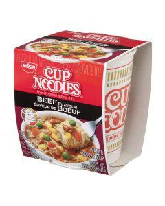 MR NOODLES NISSIN BEEF NOODLES CUP - 64GR