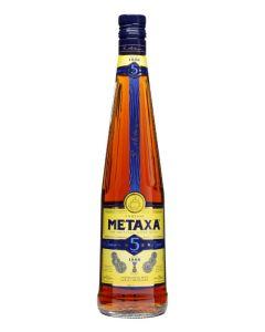 METAXA 5 STAR BRANDY - 100CL