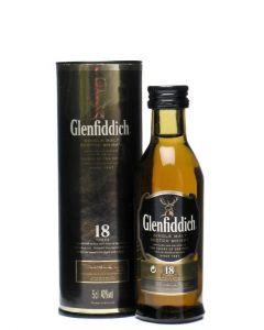 GLENFIDDICH ANCIENT RESERVE 18YR MALT SCOTCH - 5CL