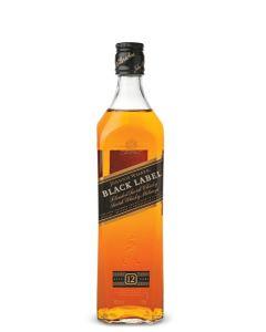 JOHNNIE WALKER BLACK LABEL 12 YEAR OLD SCOTCH WHISKY - 100CL / 6 = $165