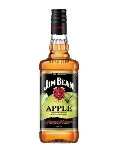JIM BEAM APPLE WHISKY - 100CL
