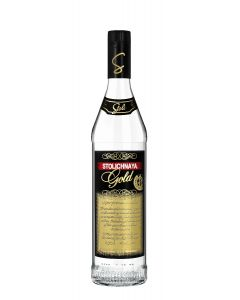 STOLICHNAYA GOLD VODKA - 100CL