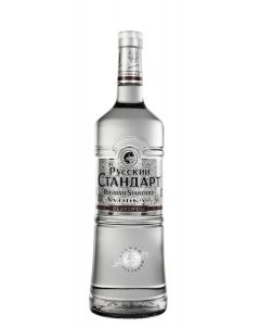 RUSSIAN STANDARD PLATINUM VODKA - 100CL
