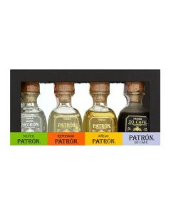 THE PATRON TEQUILA VARIETY PACK - 4X5CL