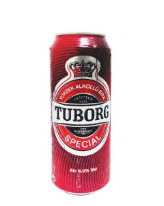 TUBORG BEER RED IN CANS [24X50CL]