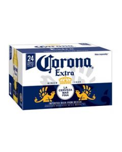 CORONA MEXICAN BEER IN BOTTLES [24X33CL]