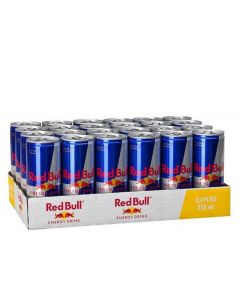 RED BULL ENERGY DRINK IN CANS - 24X25CL