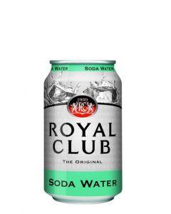 ROYAL CLUB SODA IN CANS - 24X33CL