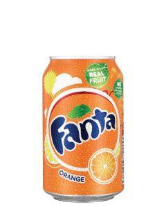 FANTA ORANGE IN CANS - 24X33CL