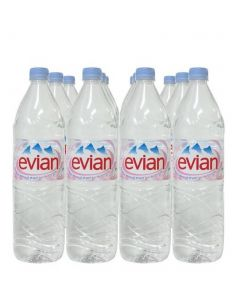 EVIAN SPRING WATER - 6X1LT