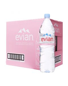 EVIAN SPRING WATER - 24X0.5 LT