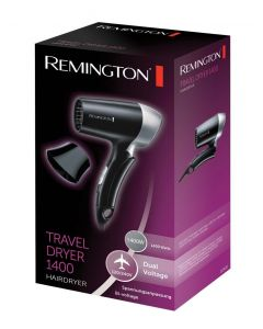 REMINGTON TRAVEL HAIR DRYER 1400W MODEL D2400.