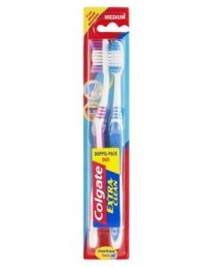 COLGATE EXTRA CLEAN TOOTHBRUSH 2 PIECES