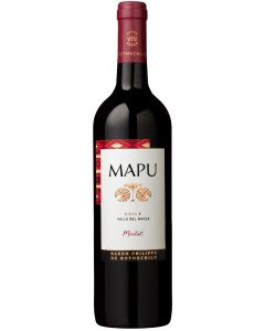 ROTHSCHILD CHILIAN MAPU MERLOT RED WINE - 75CL