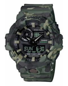 Casio G-Shock Camouflage Patterns Special Color Model Watch GA700CM-3A