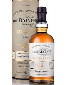 THE BALVENIE 16 YEARS TRIPLE CASK - 70CL
